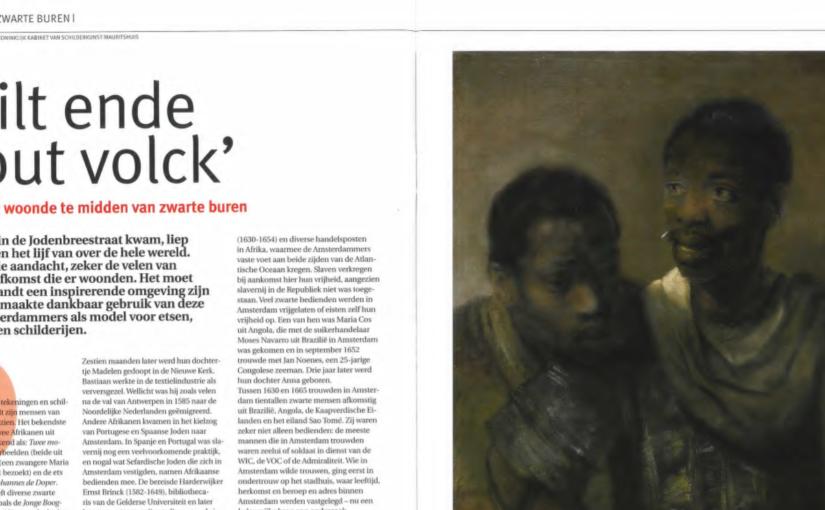 Rembrandt en zijn zwarte buren